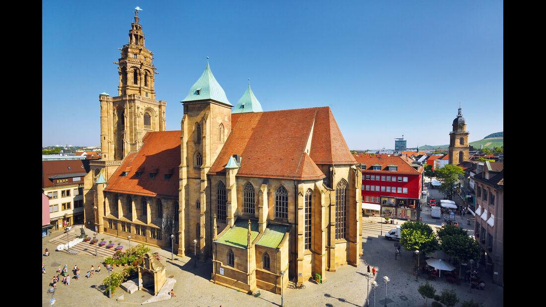 Burgenstraße, Heilbronn, Kilianskirche