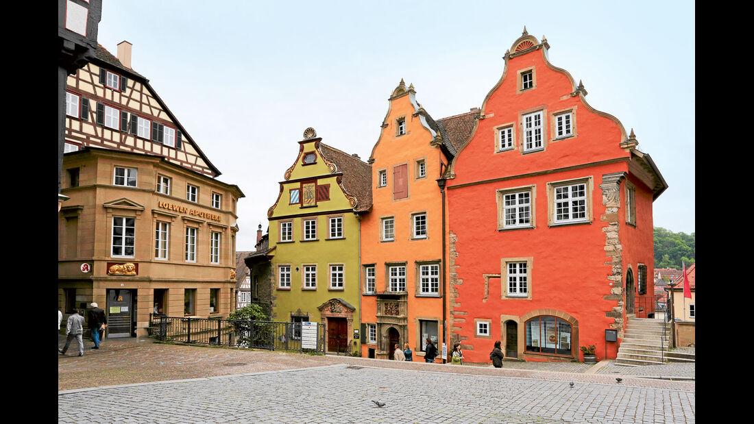 Burgenstraße, Schwäbisch Hall