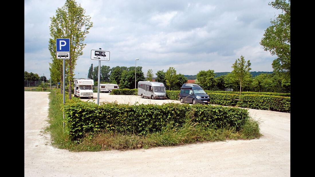 Burgenstraße Stellplatz Ansbach