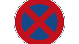 Bussgeldforderung Italien Verkehrszeichen