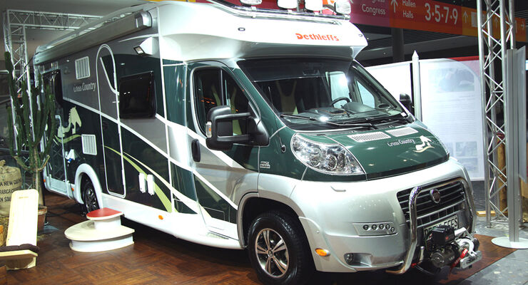 CMT 2010 Promobil Wohnmobil  Dethleffs Cross Country