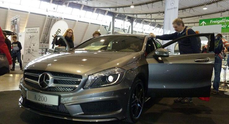 CMT 2014 Motorgalerie, Mercedes A-Klasse