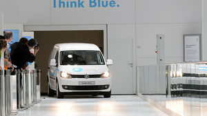 CO2-freie Mobilität von innerstädtischen Lieferfahrzeugen wird über zwei Jahre in Hannover erprobt.