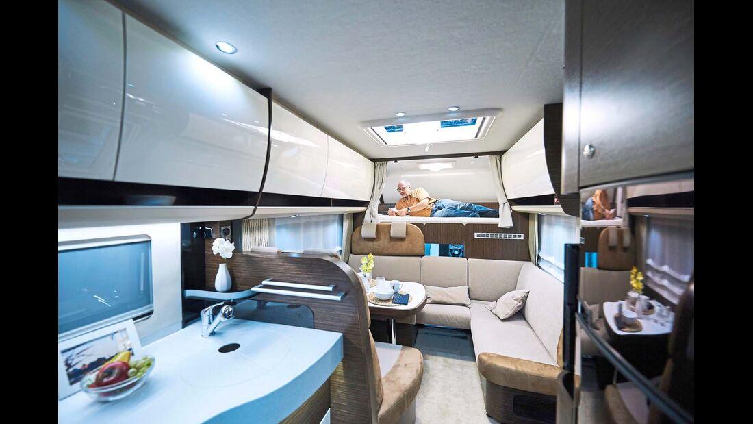 CONCORDE Ein Traum für Familien mit gut gefülltem Portemonnaie ist der Cruiser 894 L.