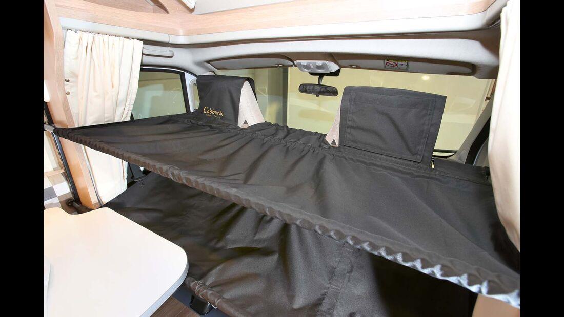 Cabbunk ist ein Kinderbett für das Fahrerhaus.