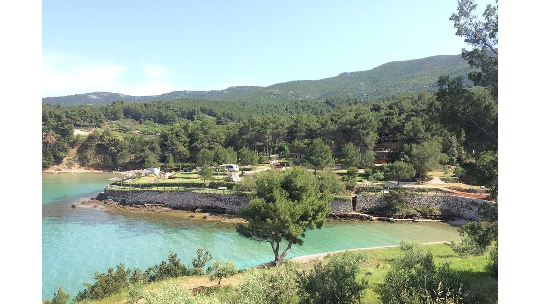 Camp Grebisce Hvar Kroatien