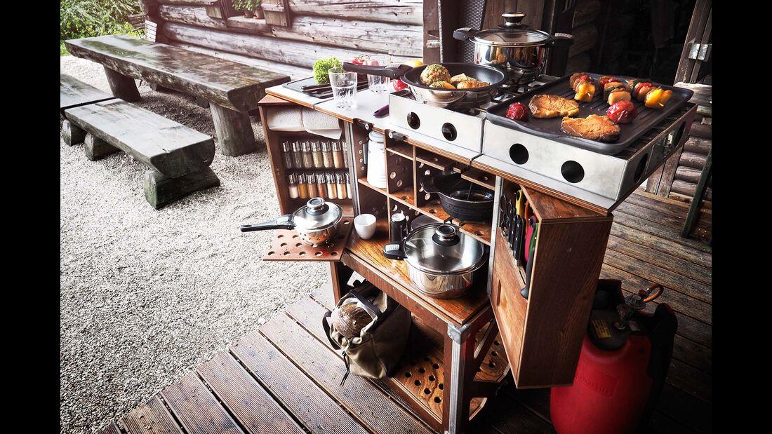 CampChamp Küche