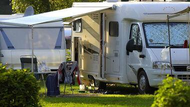 Campen auf dem CAmping Schluga.