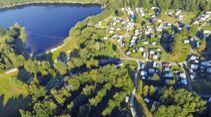 Campen und Angeln
