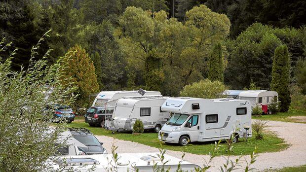 Camping Bärenschlucht.