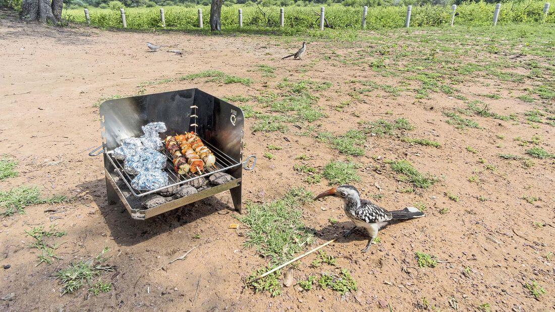 Camping-Grill Fire-Q im Praxistest