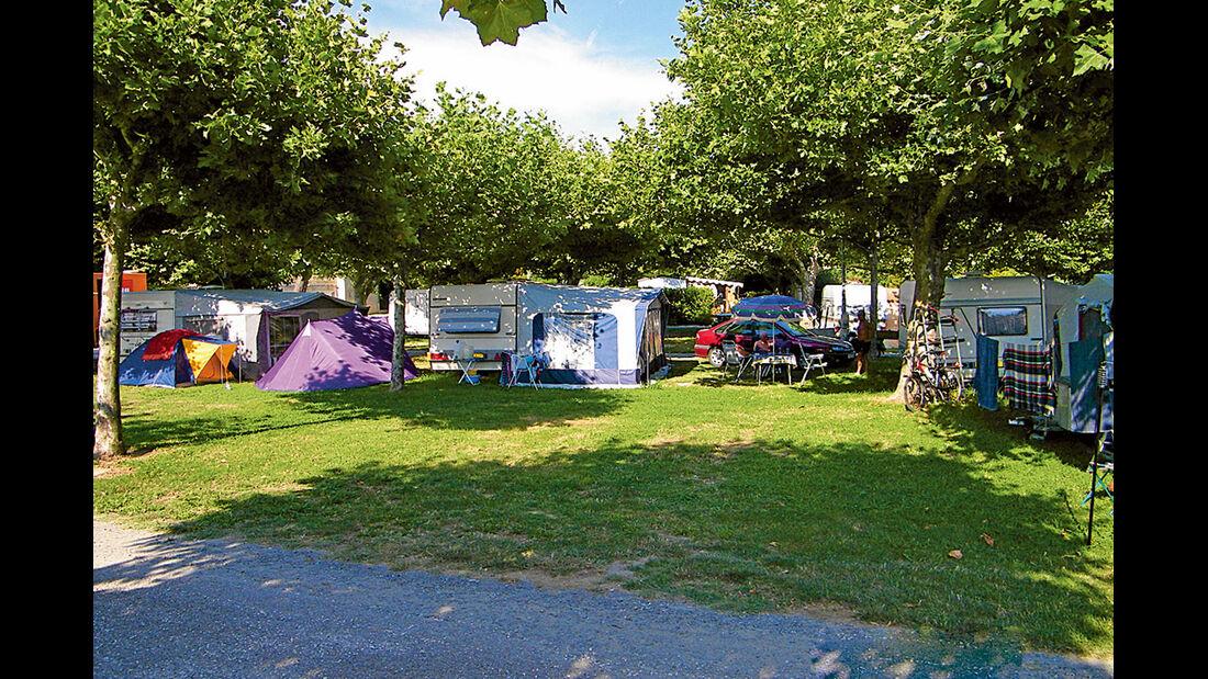 Camping La Pinède bei Port Grimaud
