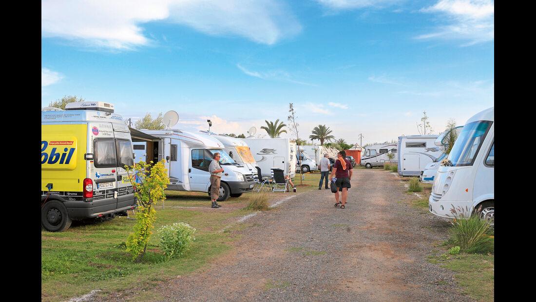 Camping Le Relais vor den Toren von Marrakesch.
