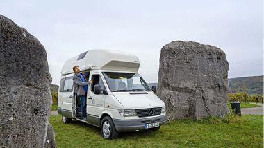 Camping-Oldie James Cook