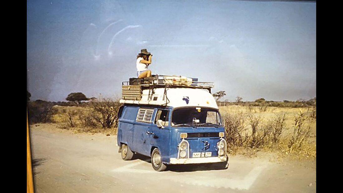 Camping Oldie VW Bulli