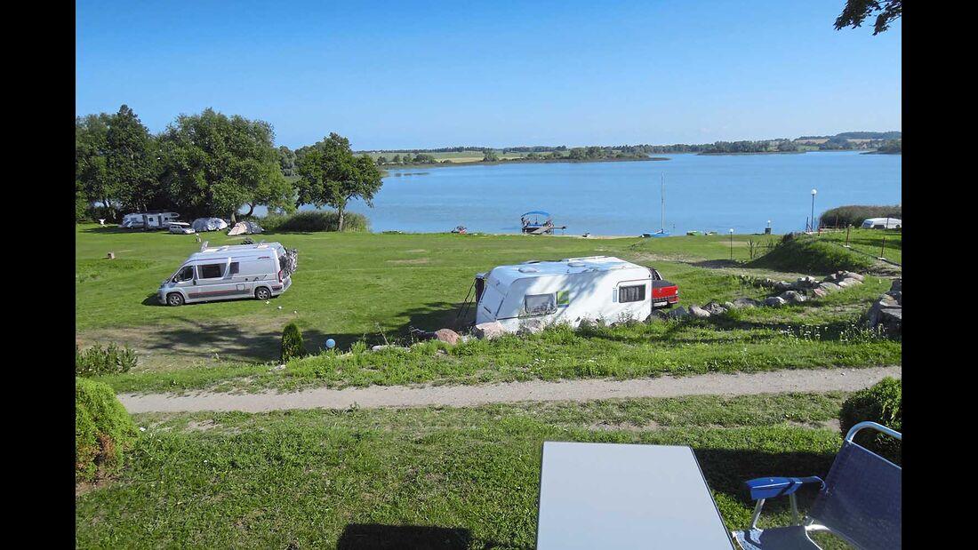 Camping Seeblick Mragowo Polen