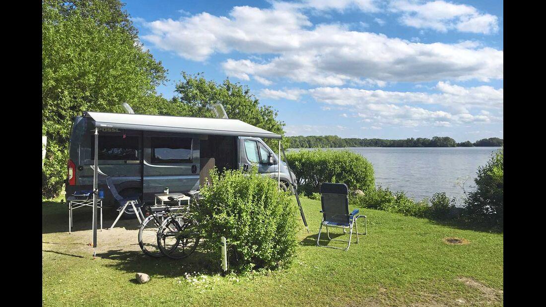 Camping Spitzenort Großer Plöner See