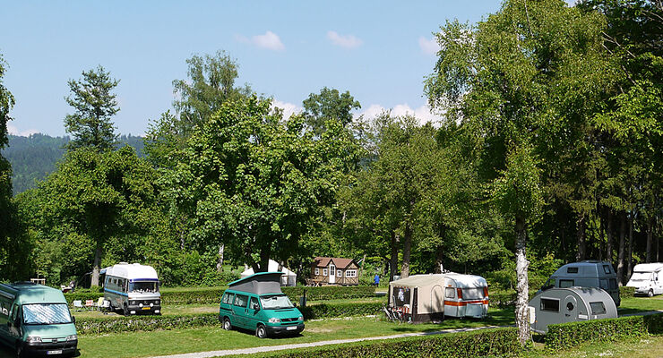 Camping am Möslepark in Freiburg erhält die Ecocamping Auszeichnung.
