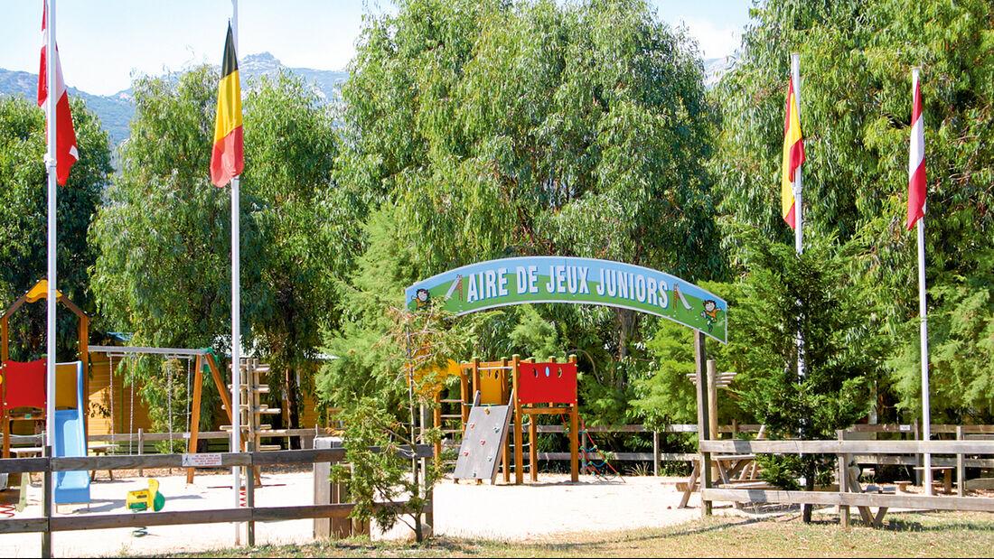 Camping la Pinède Calvi mit Sandstrand