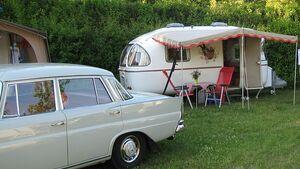 Camping wie vor 30 und mehr Jahren gibt es auf dem Bodensee-Campingpark Gitzenweiler Hof am 25. Juni direkt zum Anfassen