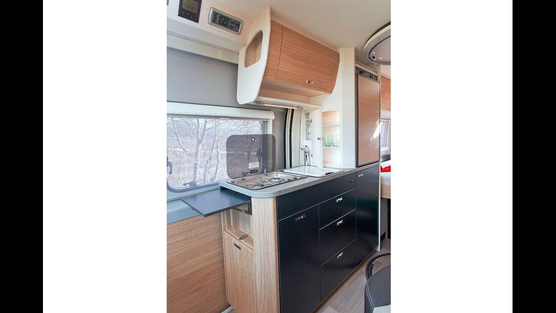 Campingbus Küche