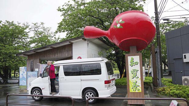 Campingbus-Reise Japan