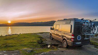 Campingbus-Reise Schottland