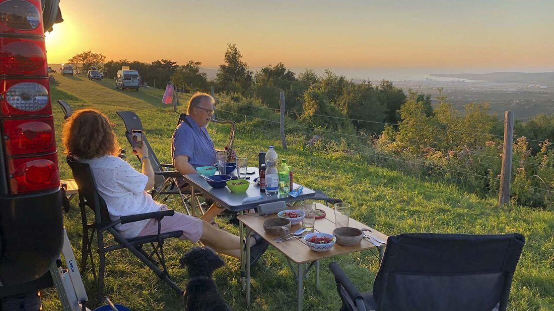 Campingbus-Reise Slowenien