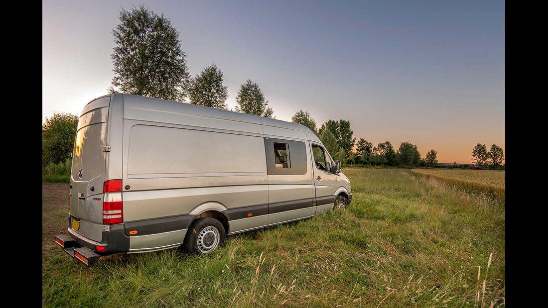 Campingbus-Selbstausbau auf Mercedes Sprinter