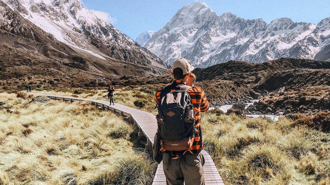 Campingbus-Tour Neuseeland