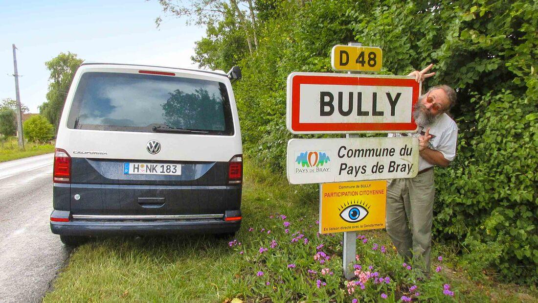 Campingbus-Tour de France