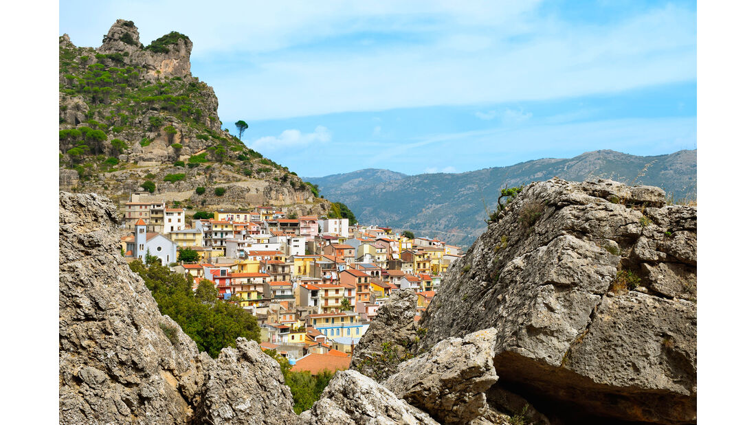 Campingbusreise Sardinien