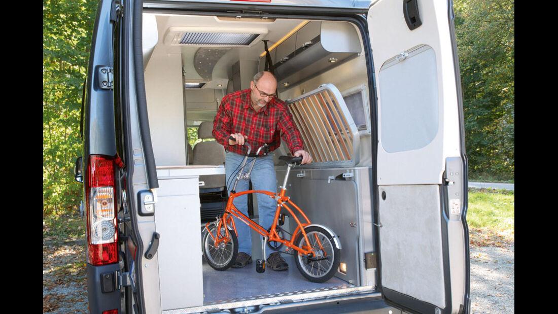 Campingbusse mit Einzelbetten, Vergleichstest