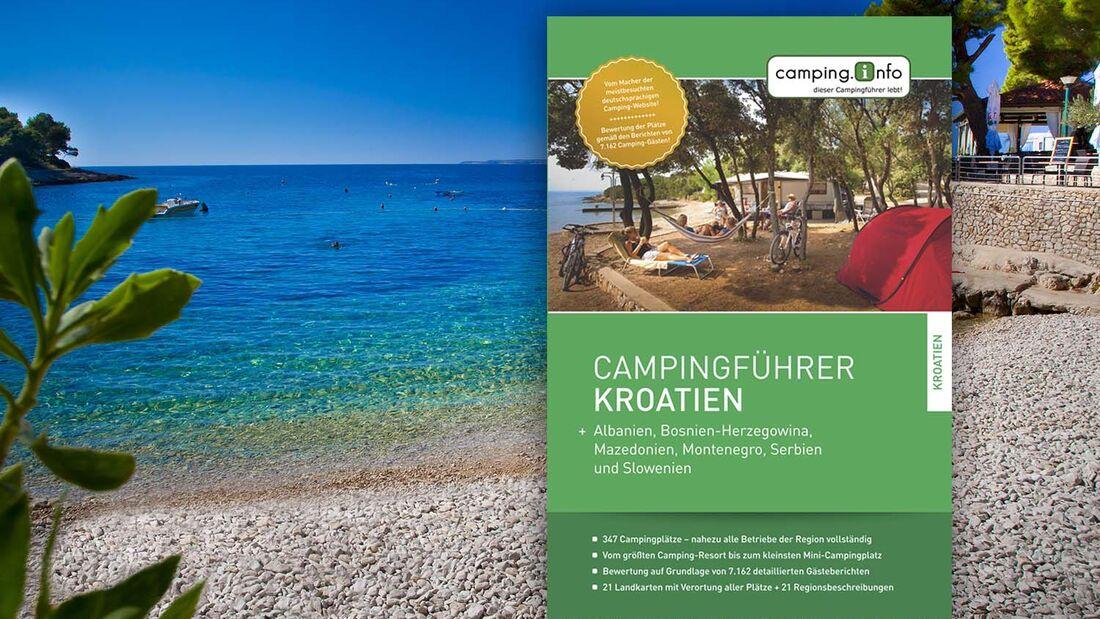 Campingführer Kroatien von Campinginfo
