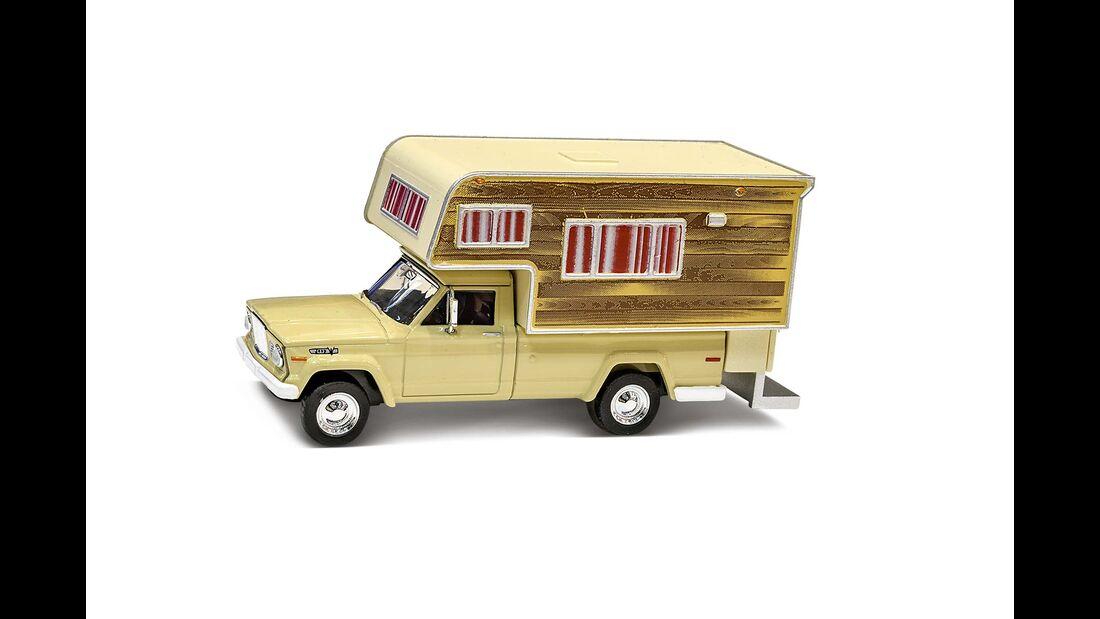 Campingmobil-Modellautos