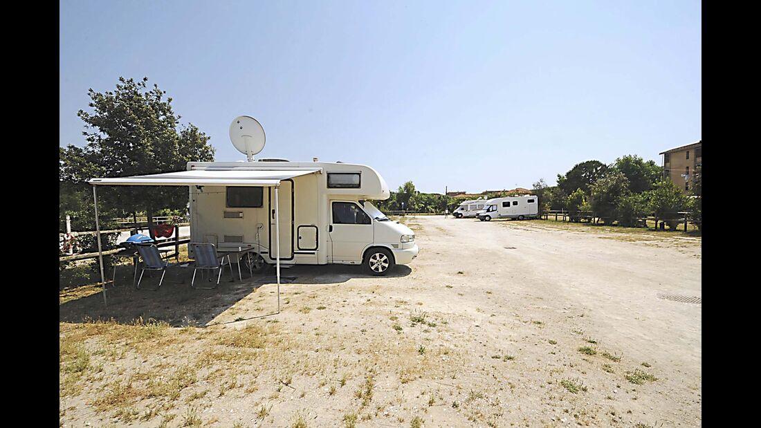 Campingplatz Area Sosta Camper