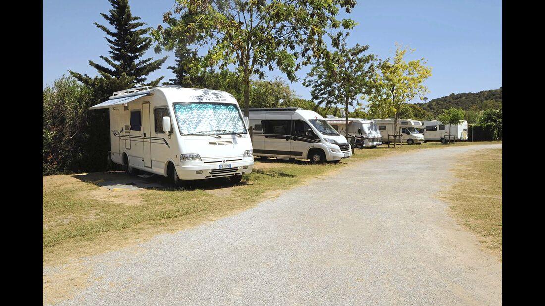 Campingplatz Area Sosta Camper Le Miniere