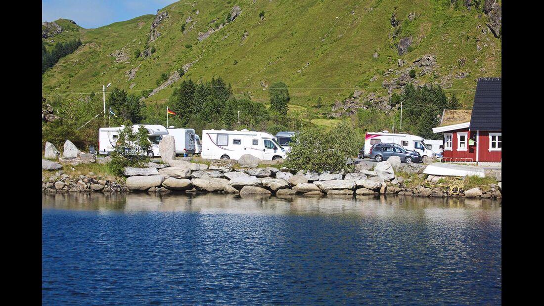 Campingplatz Brustranda
