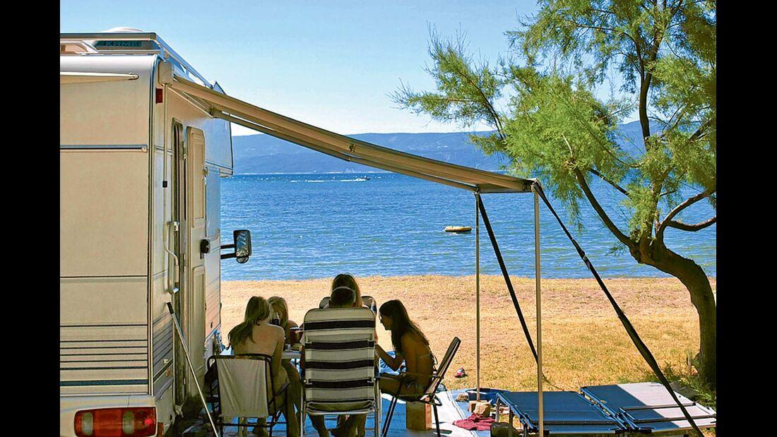 Campingplatz Galeb in Dalmatien