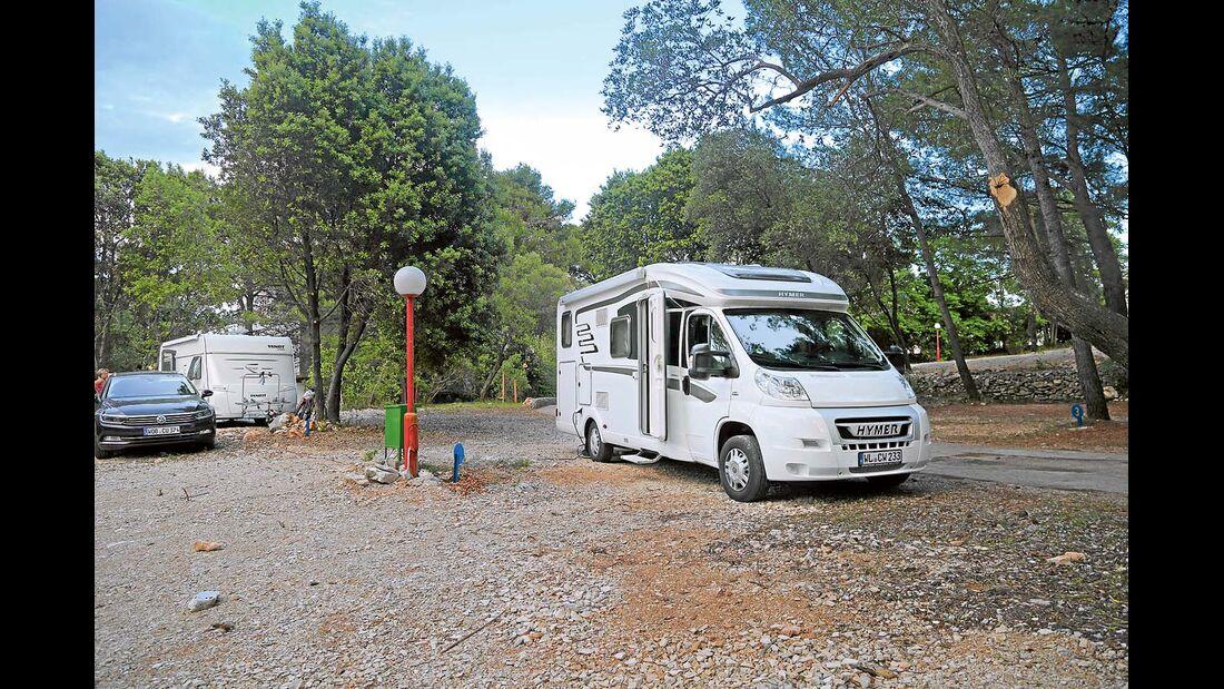 Campingplatz Kalac in Dalmatien