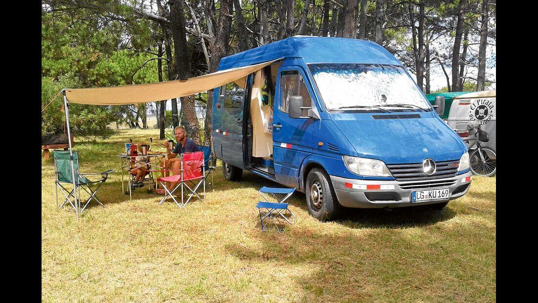Campingplatz La Paloma Uruguay