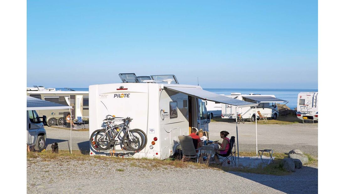 Campingplatz Moskenes