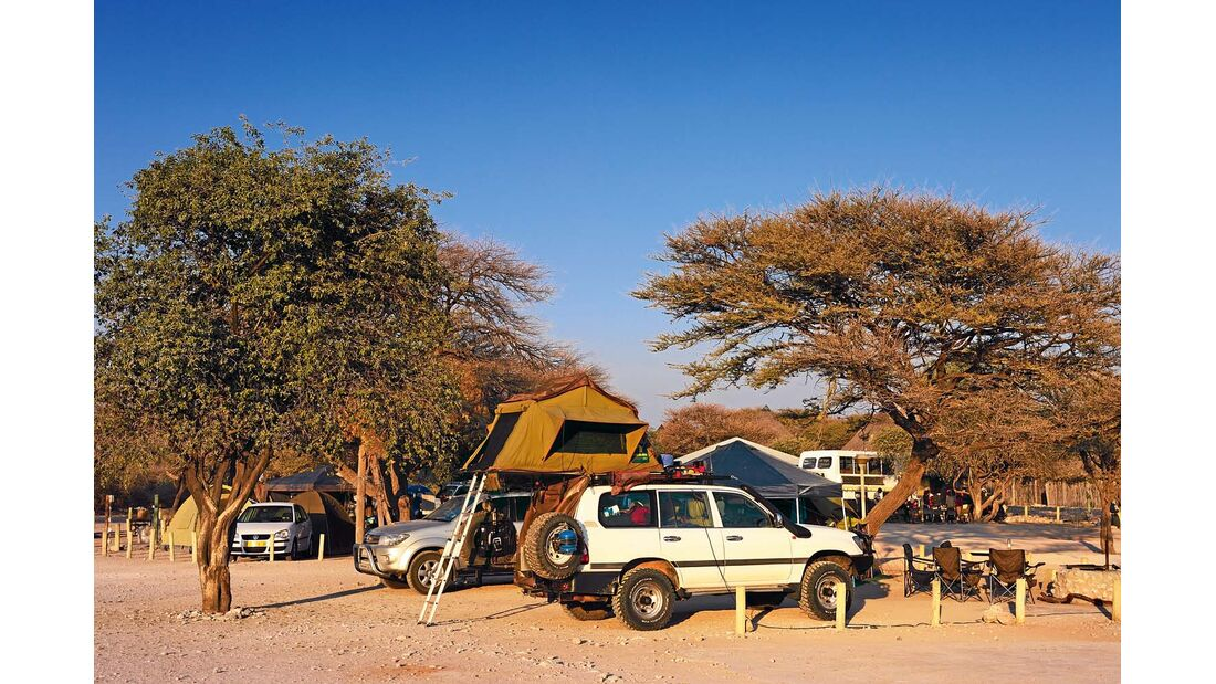 Campingplatz Okaukuejo-Camp