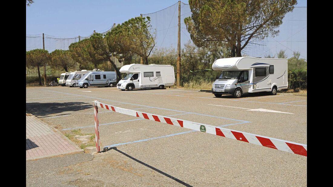 Campingplatz Parcheggio Camper Cecinella