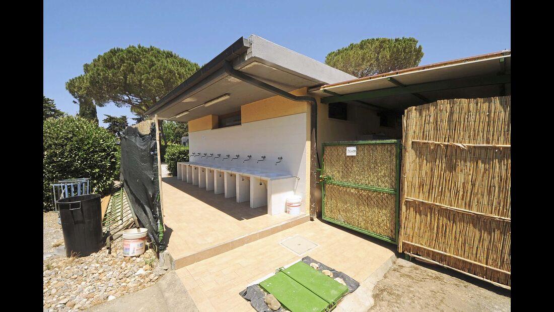 Campingplatz Parco Sosta Lanini