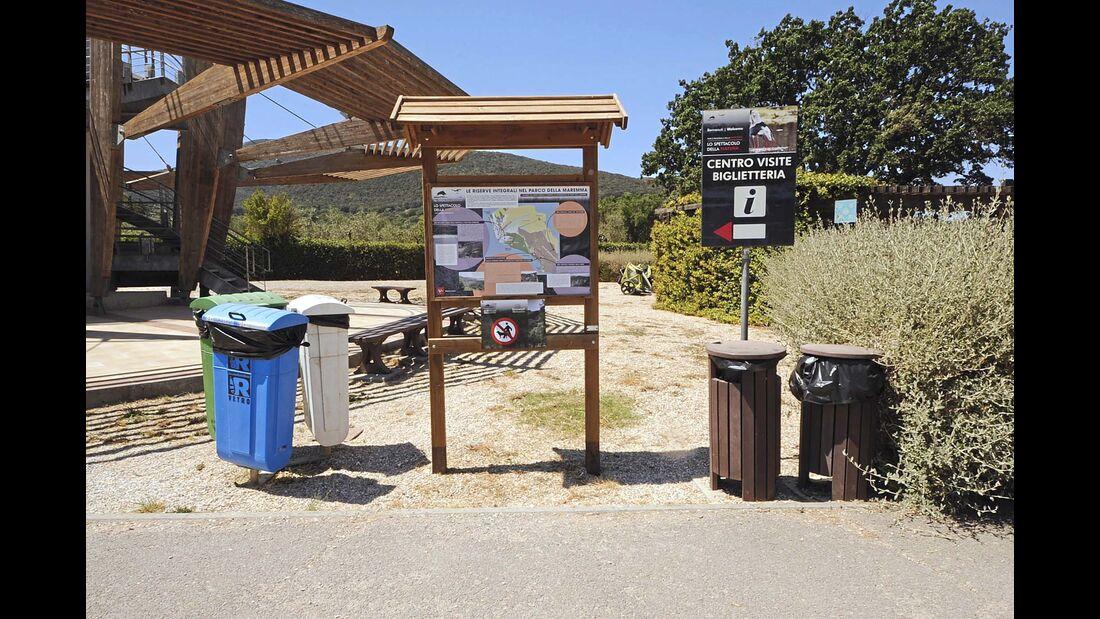 Campingplatz Piazzale Parco dell'Uccelina