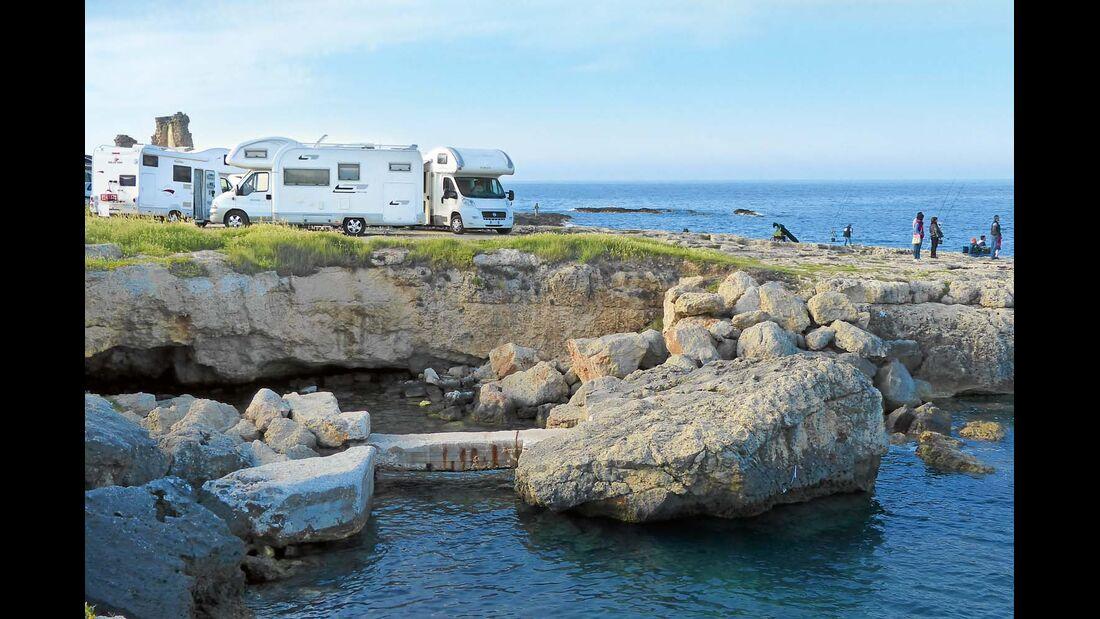 Campingplatz Santo Stefano bei Savelletri