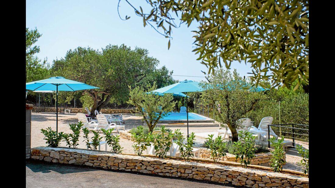 Campingplatz Waterman Beach Village in Dalmatien
