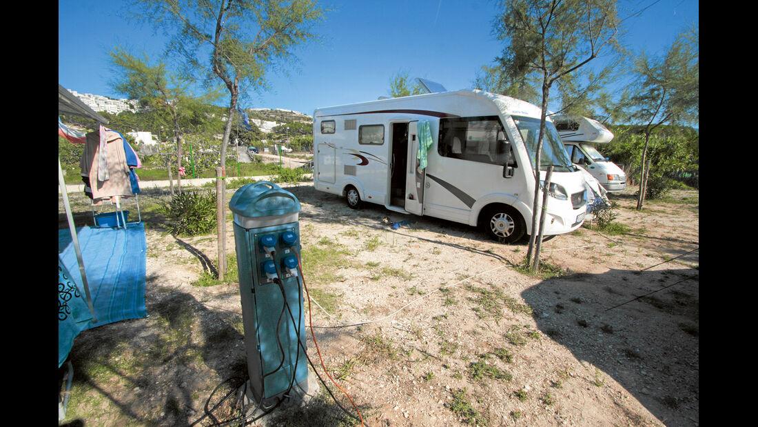Campingplatz in Peschici