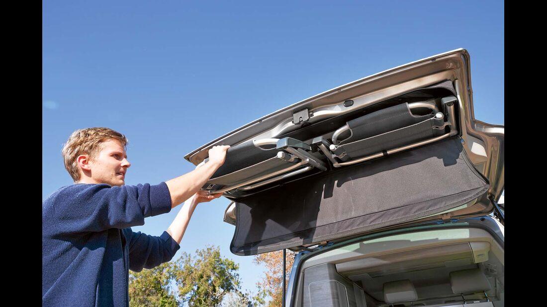 Campingstühle serienmäßig beim VW California